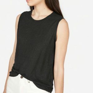 Everlane Linen Sleeveless Tank Top XS